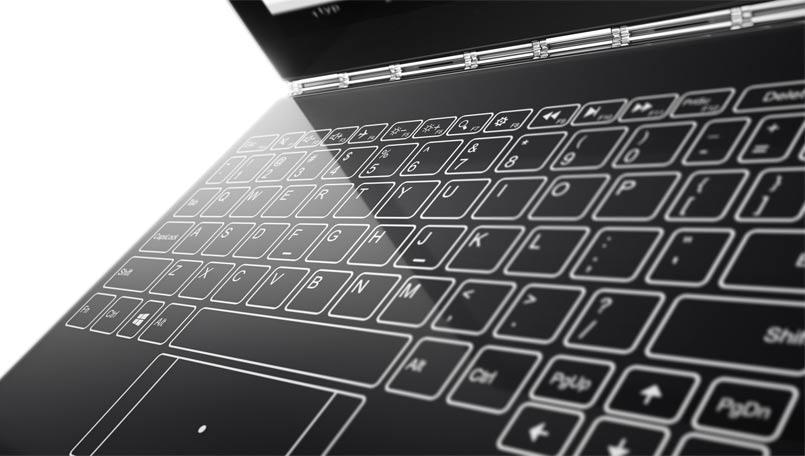 IFA 2016: Yoga Book, il convertibile di Lenovo prova a superare la tastiera fisica