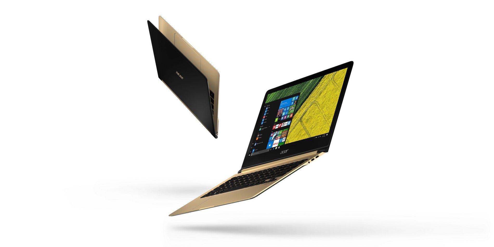 IFA 2016: Acer svela il primo laptop più sottile di 1 cm
