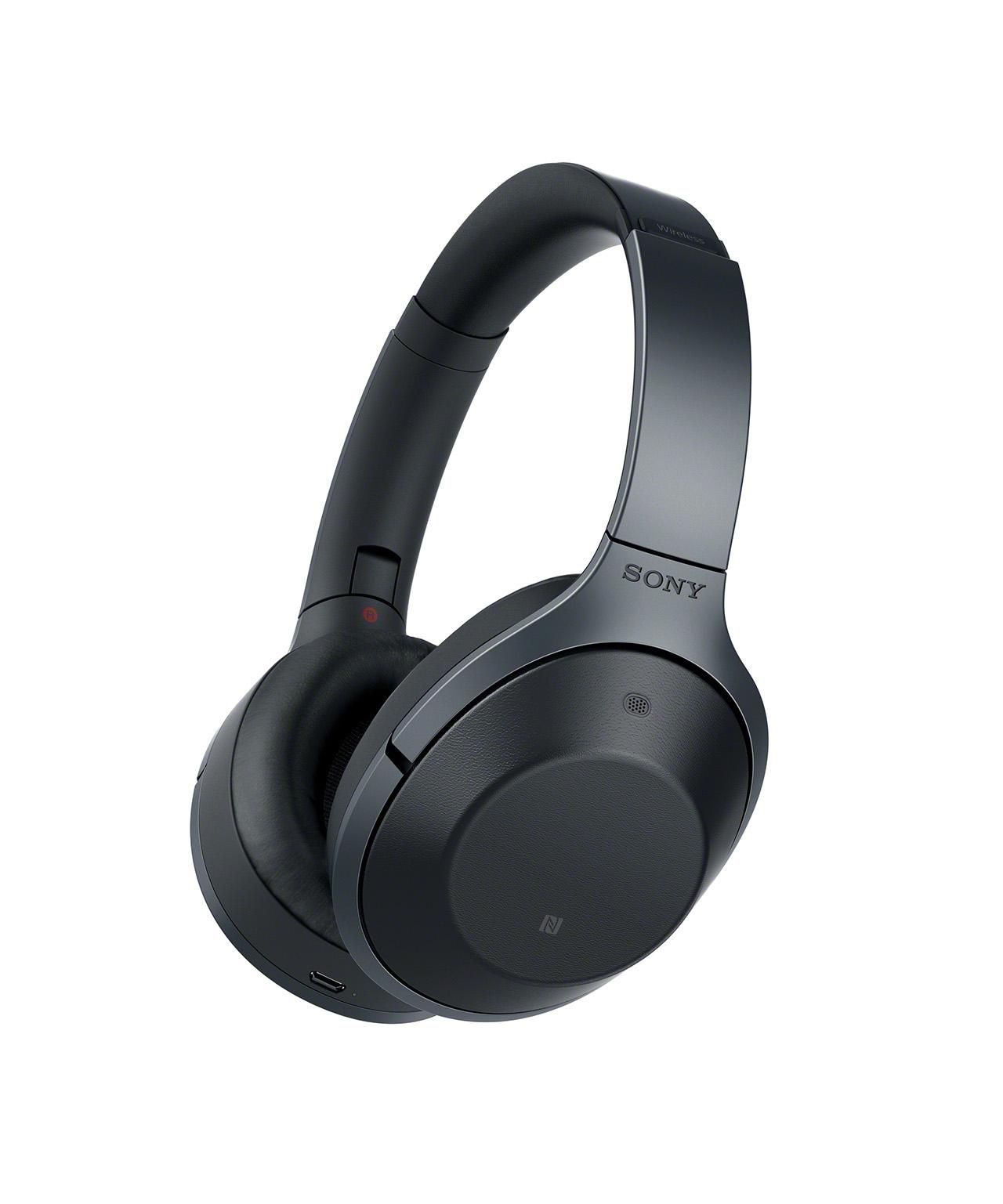 Sony presenta le MDR-1000X, cuffie wireless che eliminano tutti i rumori