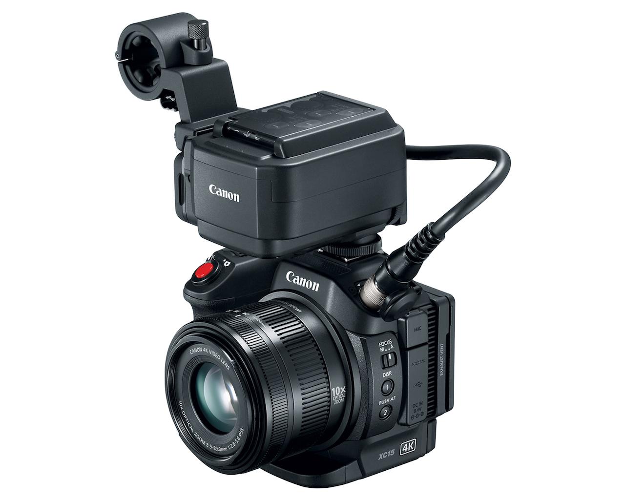 Canon annuncia la XC15, un passo in più verso i reporter