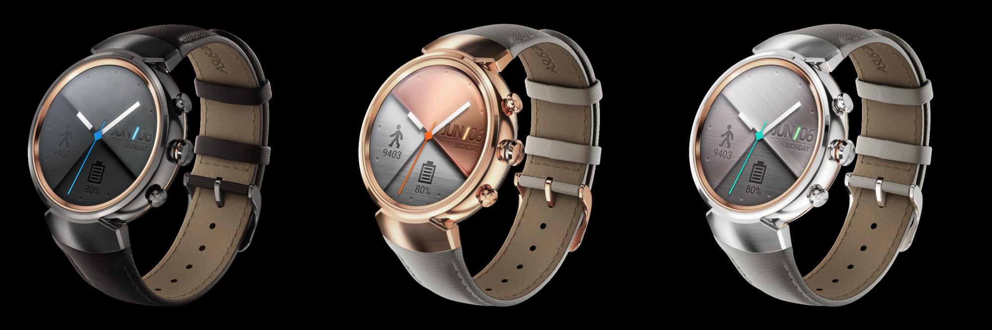 IFA 2016: Asus presenta ZenWatch 3, elegante smartwatch con Android Wear