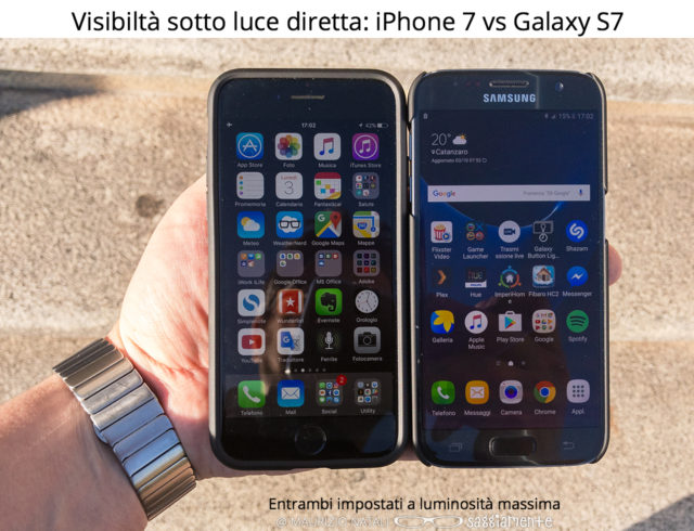 iphone7-luminosita-display-vs-s7