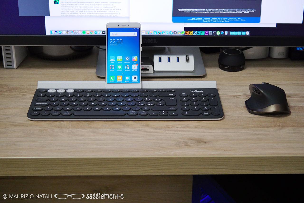 AsSaggio: la Logitech K780 è una tastiera senza fili e senza limiti