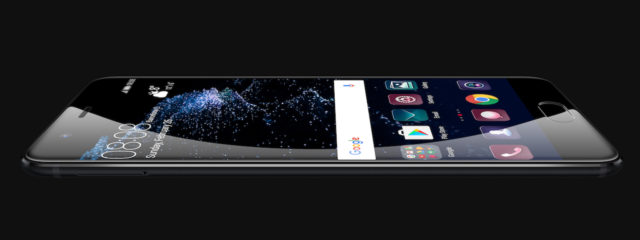 P10 black large screen_thin_widget UI