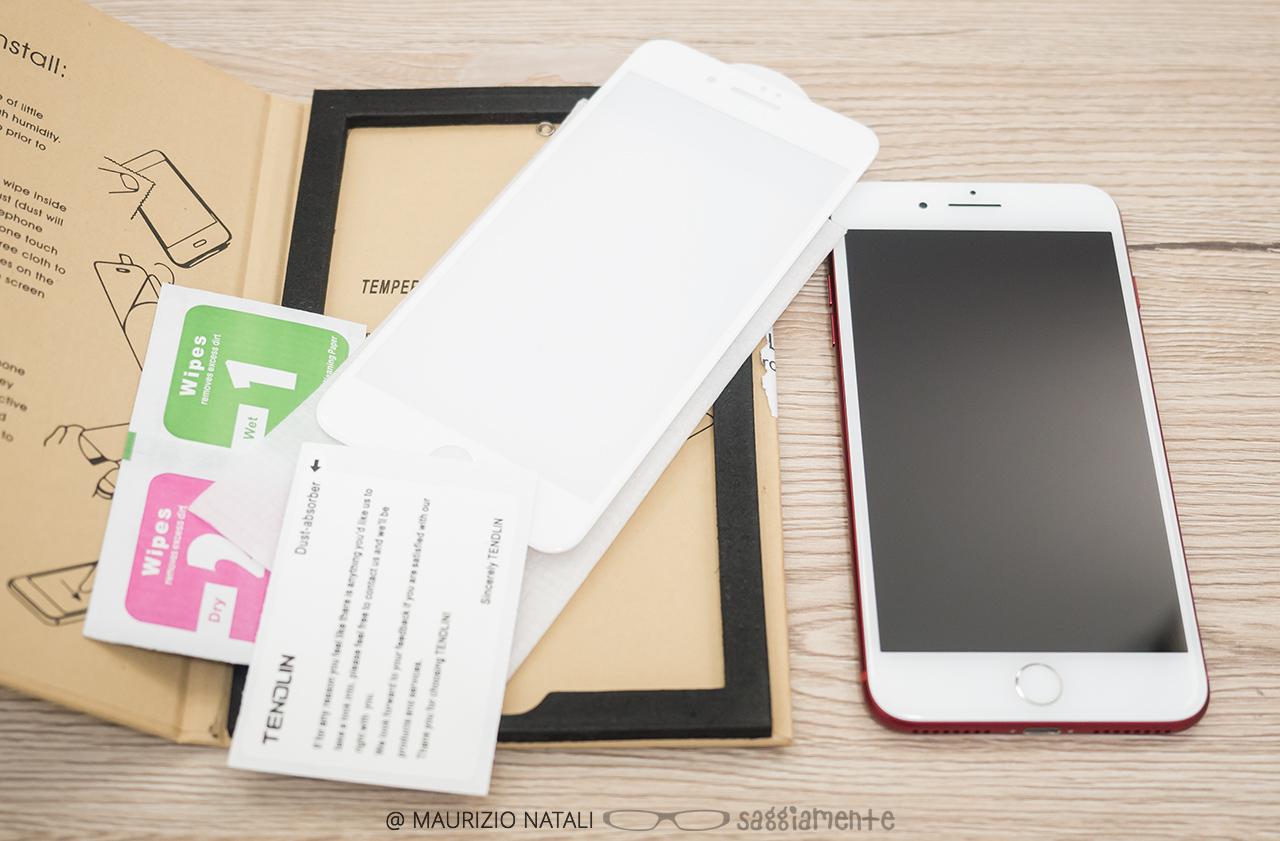 Recensione: il miglior vetro temperato curvo per iPhone 7 è di Tendlin