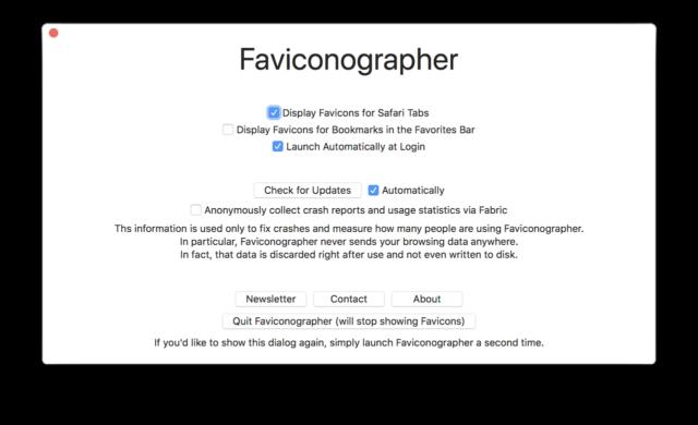 Faviconographer