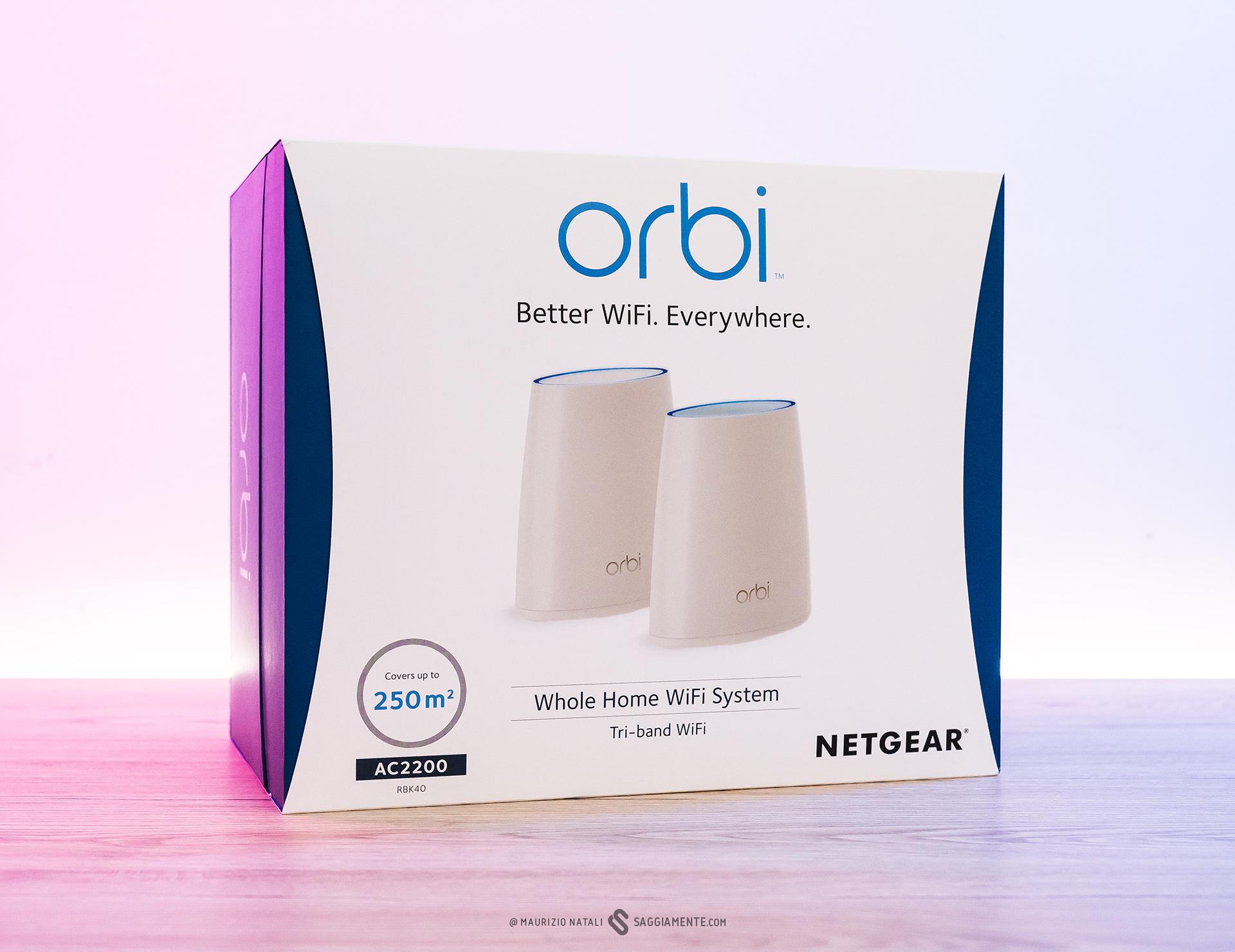 Recensione: Netgear Orbi, la rete wireless mesh finalmente