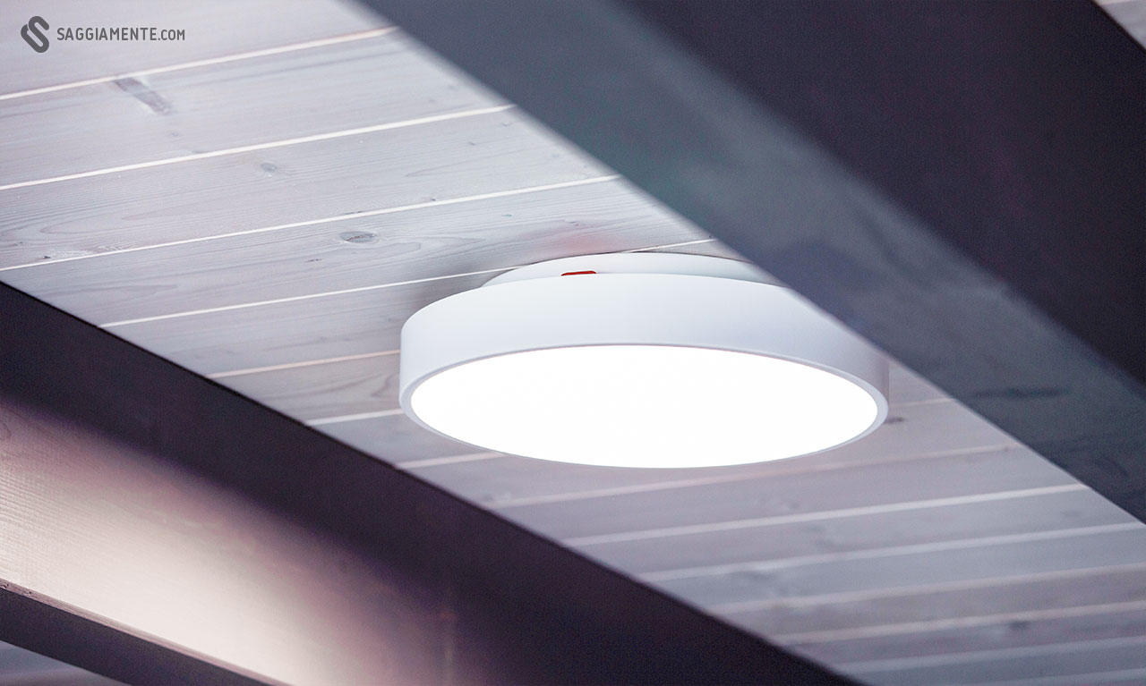 Plafoniere Rosse Da Esterno : Recensione: yeelight smart ceiling light una sorprendente