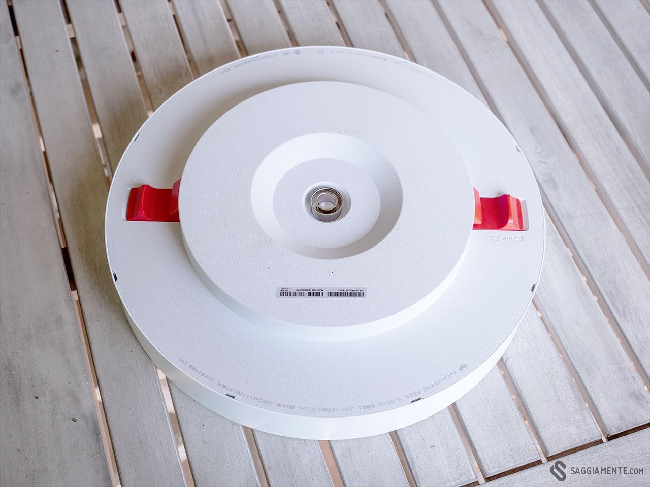 Accensione Lampadario Con Telecomando recensione: yeelight smart ceiling light, una sorprendente