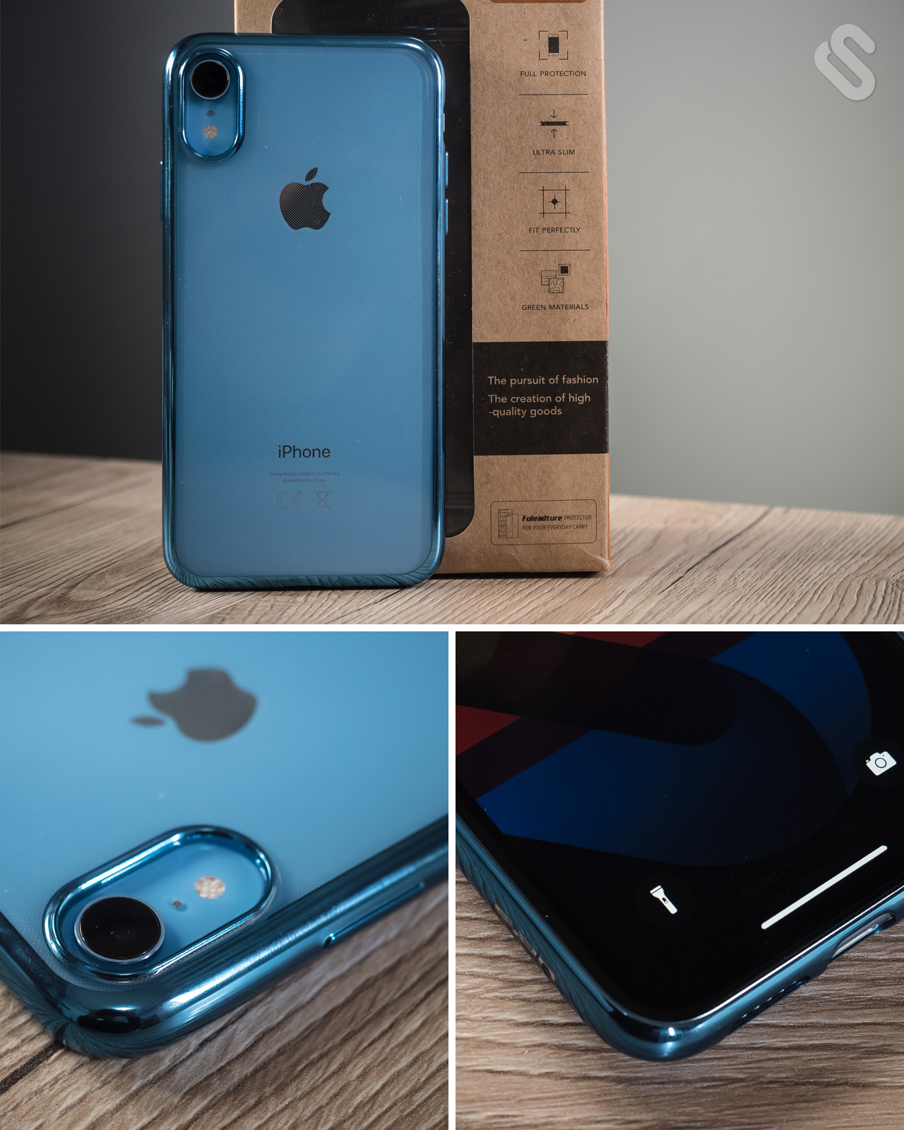 Cover iPhone Xr Custodia iPhone XrCover iPhone Xr e Vetro