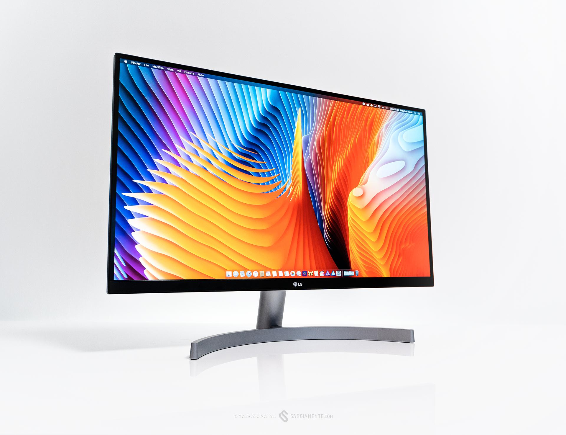 Recensione: LG 27UK600, monitor 27