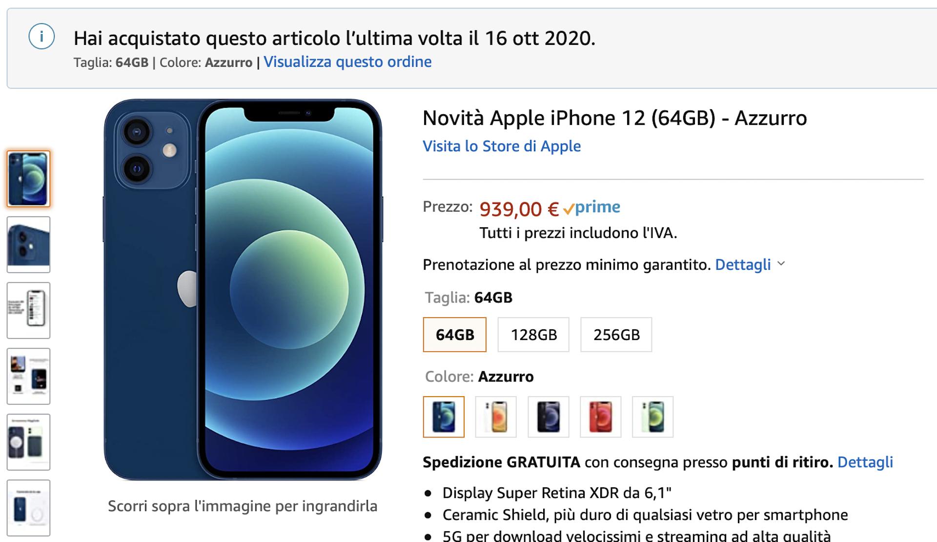 Partiti Ordini Di Iphone 12 E 12 Pro Ma Anche Di Ipad Air 4 Da Amazon Arrivano Prima