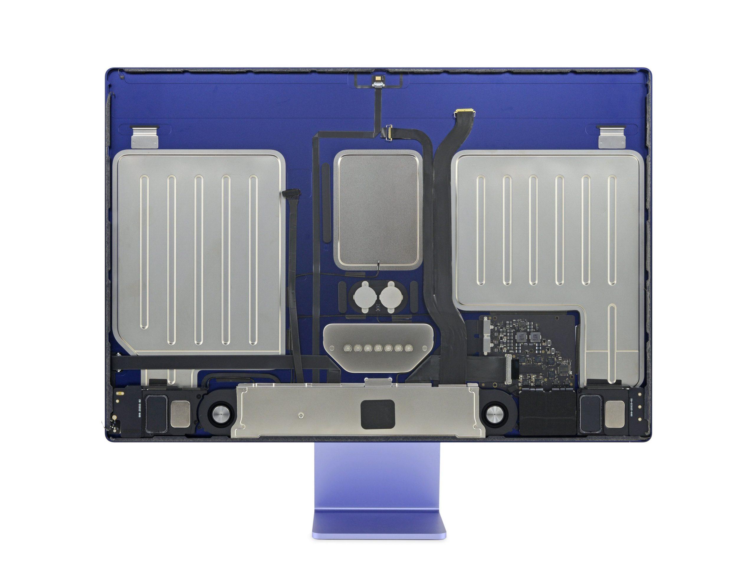 iMac 24 teardown iFixit